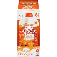 Happy Tot Organic Superfoods Apples, Sweet Potato, Carrots & Cinnamon Baby Food
