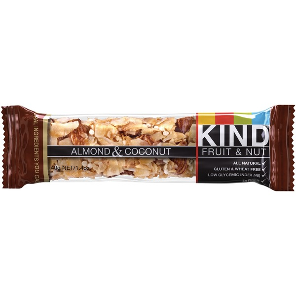 KIND Almond & Coconut Fruit & Nut Bar