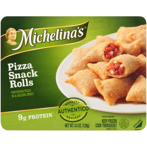 Michelina's Authentico Pizza Snack Rolls