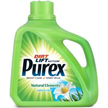 Purex Liquid Laundry Detergent, Natural Elements Linen & Lilies, 150 Fluid Ounces, 100 Loads