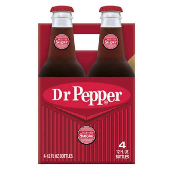 Dr. Pepper Made with Sugar Soda