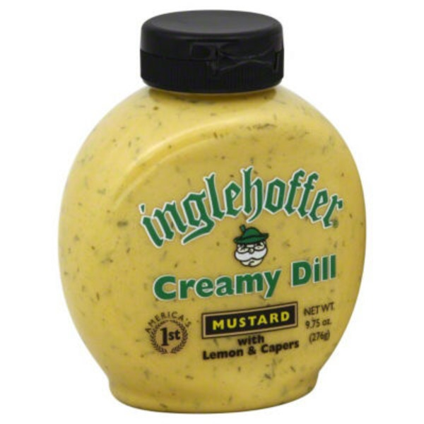 Inglehoffer Creamy Dill With Lemon & Capers Mustard
