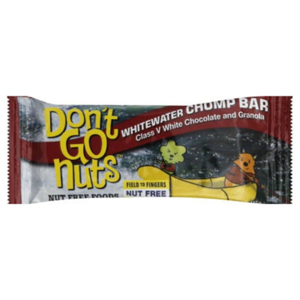 Dont Go Nuts Bar, Whitewater Chomp, Wrapper