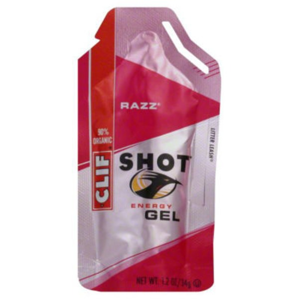 Clif Shot® Razz Energy Gel
