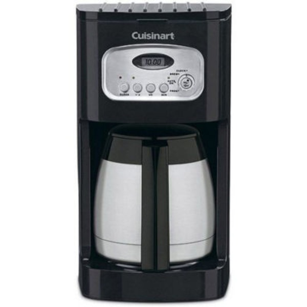 Cuisinart Black 10 Cup Programmable Thermal Coffeemaker