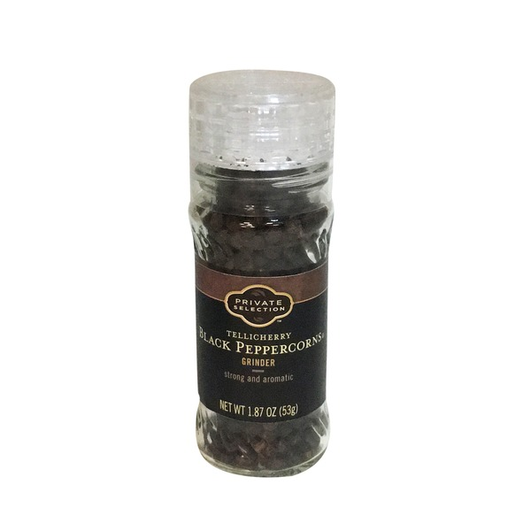 Kroger Private Selection Whole Black Peppercorn Grinder