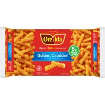 Ore-Ida Golden Crinkles French Fried Potatoes, 5 lbs