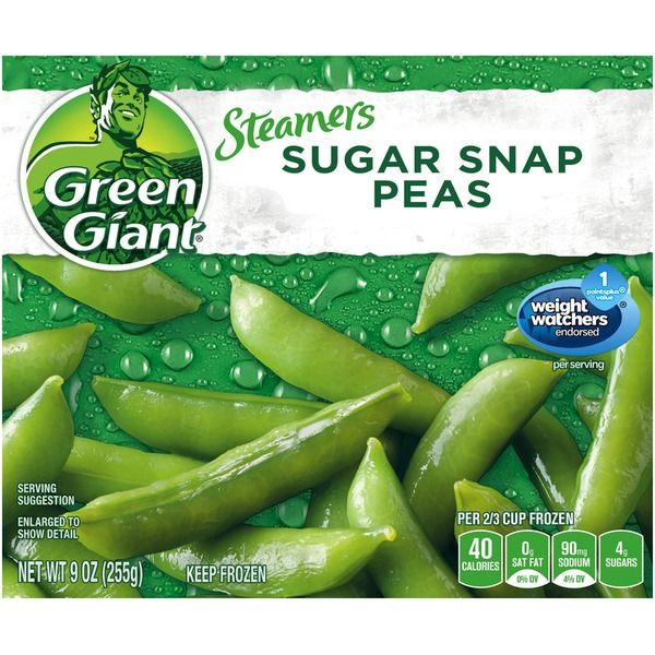 Green Giant Sugar Snap Peas Steamers