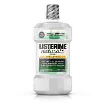 Listerine Naturals Antiseptic Mouthwash, Herbal Mint, 1 L