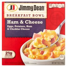 Jimmy Dean Ham & Cheese Breakfast Bowl, 7 oz