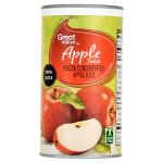 Great Value Apple Juice, 12 fl oz