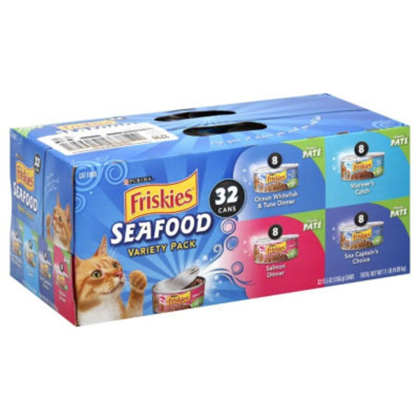 Friskies Seafood Variety Pack Cat Food