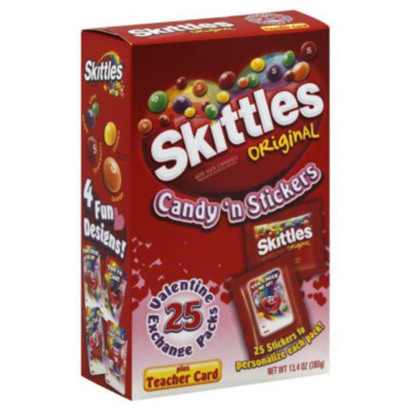 Skittles Candy 'n Stickers, Original