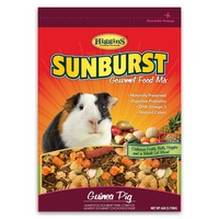Higgins Sunburst Gourmet Guinea Pig Food Mix 6 Lbs.