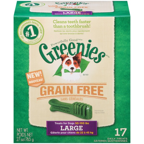 Greenies Grain Free Large Dog Treats