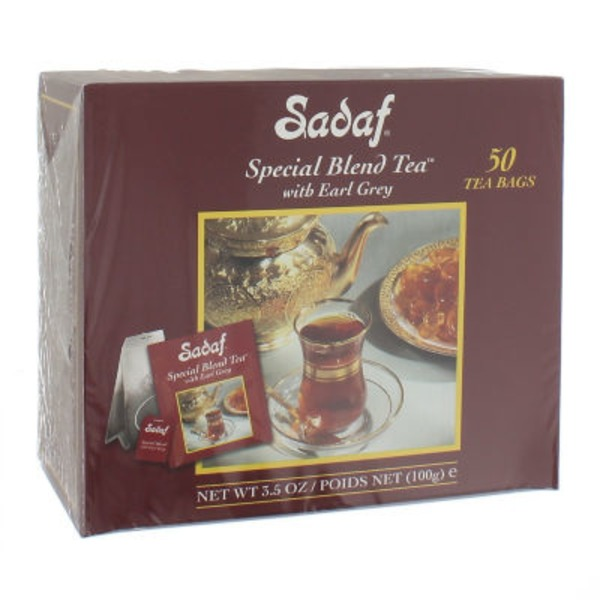 Sadaf Special Blend Tea Bags With Earl Grey