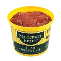 Sanderson Farms 100% Natural Fresh Chicken Livers