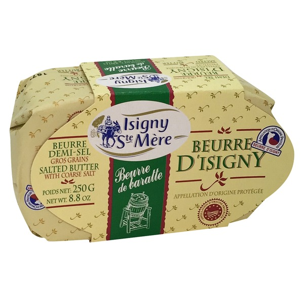 Beurre D'Isigny Salted Butter With Coarse Salt
