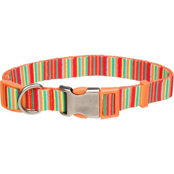 Planet Petco Red Legacy Adjustable Eco Dog Collar