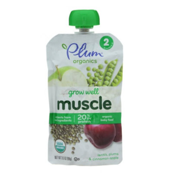 Plum Baby Grow Well Muscle Baby Food