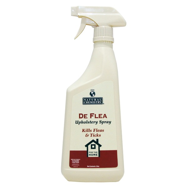 Natural Chemistry De Flea Upholstery Spray Kills Flea & Ticks