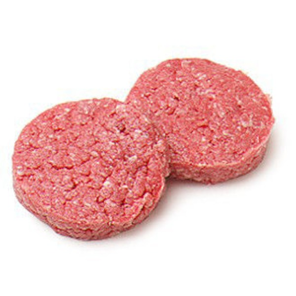 Fresh Ground Brisket Patties 80% Lean 20% Fat