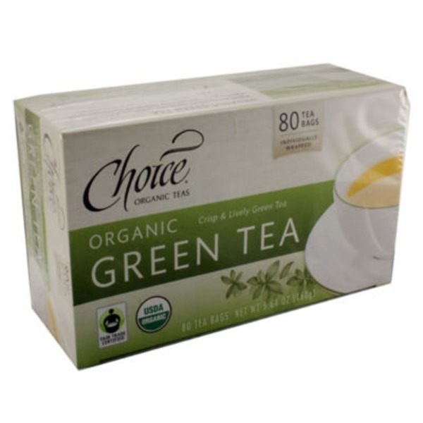 Choice Organic Teas Organic Fair Trade Green Tea