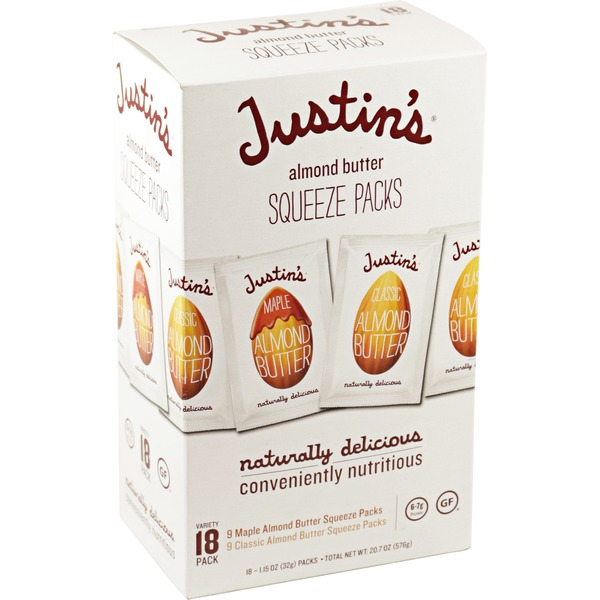 Justin's Almond Butter Squeeze Pack