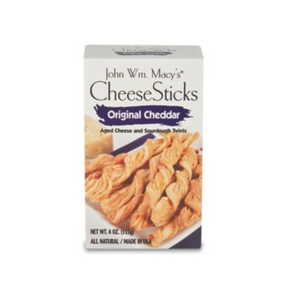 John Wm. Macy's CheeseSticks Original Cheddar
