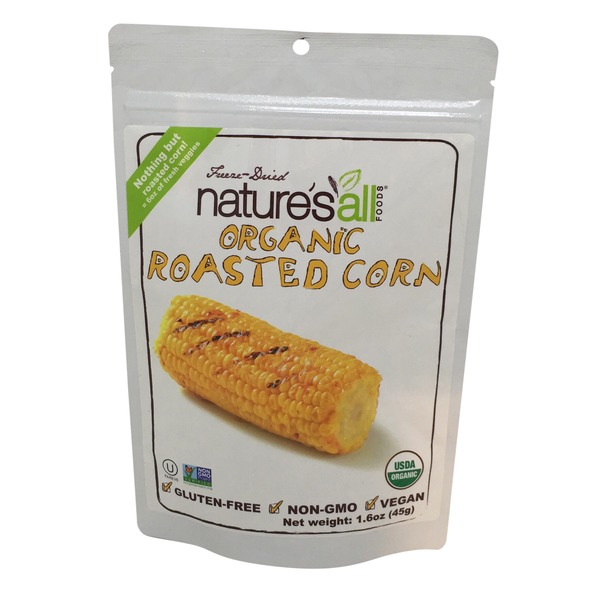 Nature's All Foods Organic Freeze-Dried Roasted Corn