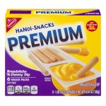 Nabisco Handi-Snacks Premium Snack Packs Breadsticks 'N Cheesy Dip - 6 CT