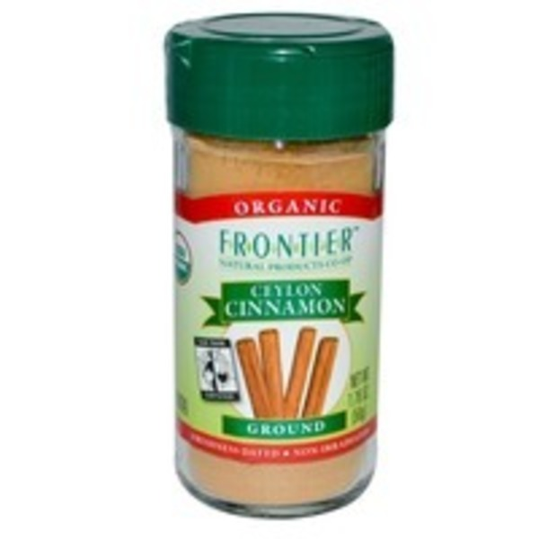 Frontier Organic Ground Cinnamon