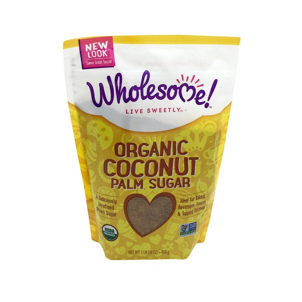 Wholesome Sweeteners Sweeteners Coconut Palm Sugar Organic