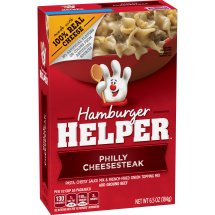 Betty Crocker Hamburger Helper, Philly Cheesesteak Hamburger Helper, 6.5 Oz. Box, 6.5 OZ