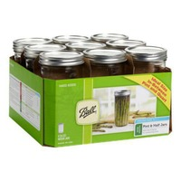 Ball Pint & Half Mason Jar Set