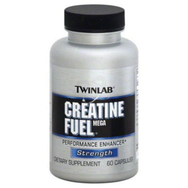 Twinlab Creatine Fuel Mega Strength Capsules