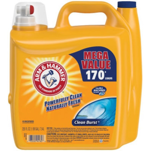 Arm & Hammer 2X Concentrated Clean Burst Liquid Laundry Detergent