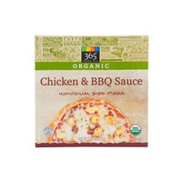 365 Organic Chicken And Bbq Sauce Pizza