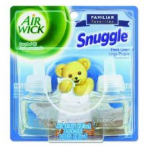 Air Wick Plugins Snuggle Fresh Linen 0.67 oz. (Pack of 2)
