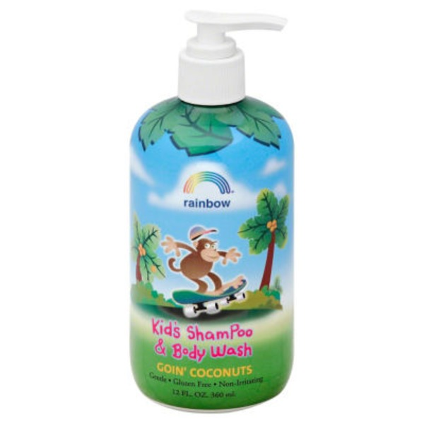 Rainbow Kids Shampoo & Body Wash Goin' Coconuts