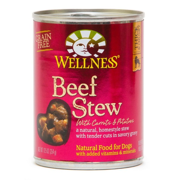 Wellness Beef Stew Canned Dog Food