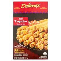 Delimex Beef Taquitos, 56 count, 56 oz