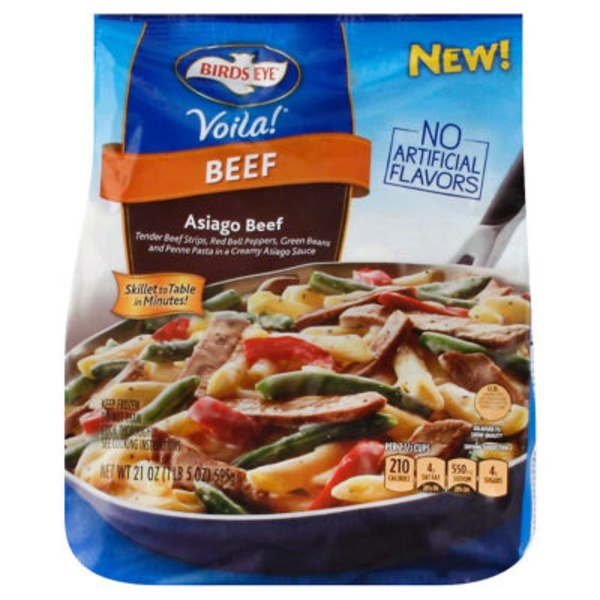 Birds Eye Asiago Beef Frozen Dinner