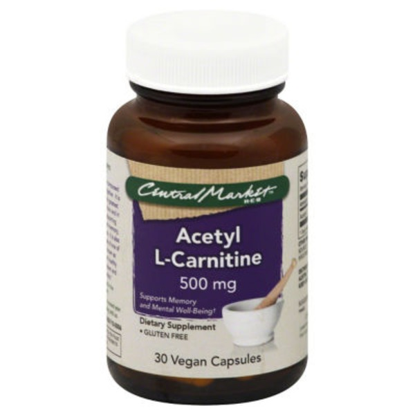 Central Market Acetyl L Carnitine 500 Mg