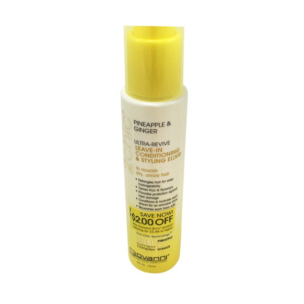 Giovanni Leave In Pineapple Ginger Conditioner