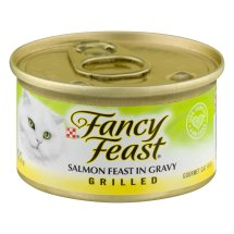 Fancy Feast Salmon Feast In Gravy Grilled Gourmet Cat Food, 3.0 OZ