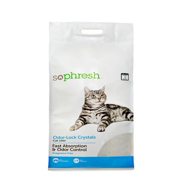 So Phresh Odor-Lock Crystal Cat Litter
