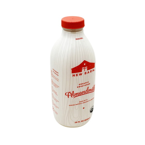 New Barn Organic Sweetened Almond Milk