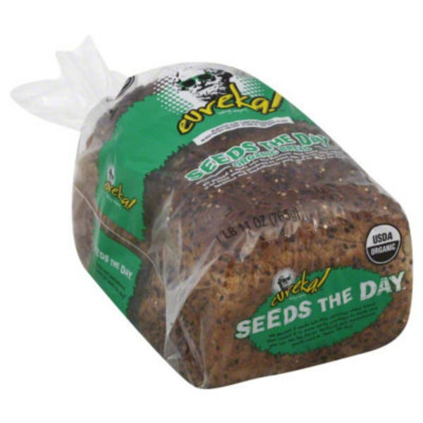 eureka! Organic 8 Grains & Seeds Seeds the Day