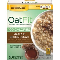 Better Oats Oat Fit Maple & Brown Sugar Instant Oatmeal